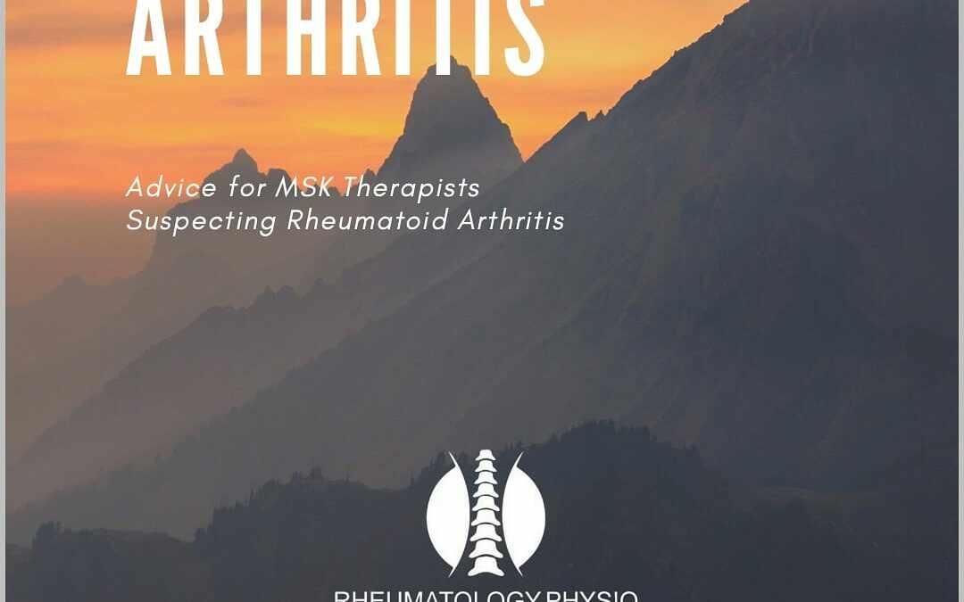 Recognising Rheumatoid Arthritis Guide